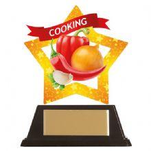Cooking Mini-Star Acrylic Award